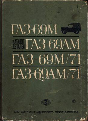 Katalog części zamiennych GAZ 69