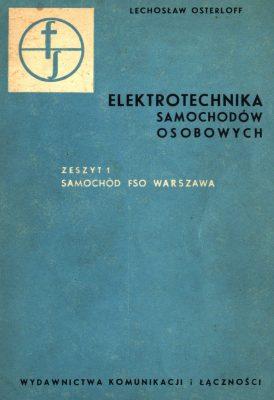 Elektrotechnika samochodów osobowych FSO WARSZAWA