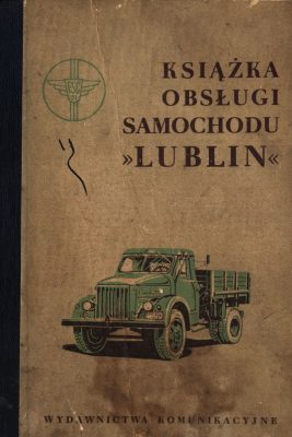 Książka obsługi samochodu GAZ 51 / LUBLIN 51